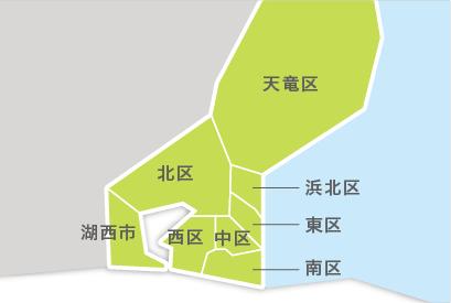 M23-2 都道府県地図イラスト・日本地図イラスト