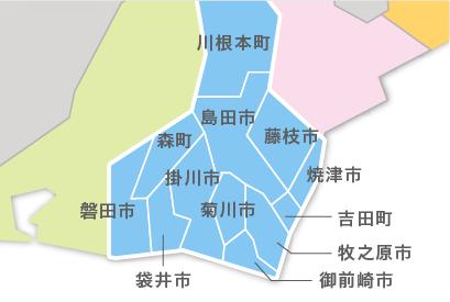 M23-3 都道府県地図イラスト・日本地図イラスト