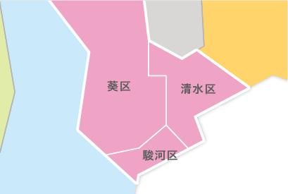 M23-4 都道府県地図イラスト・日本地図イラスト