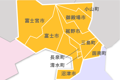 M23-5 都道府県地図イラスト・日本地図イラスト