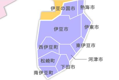 M23-6 都道府県地図イラスト・日本地図イラスト