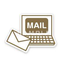 PG02-08 線画タッチのピクトグラム制作例 Eメール