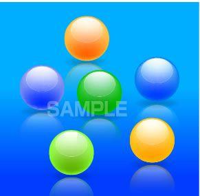 S13-01 球のイラスト
