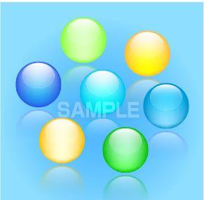 S13-02 球のイラスト