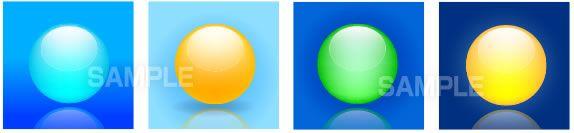 S13-06 球のイラスト
