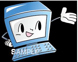 S15-06 パソコンのイラスト