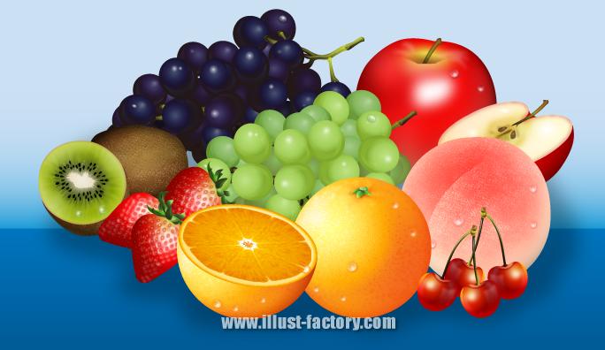 S20-01 果物・フルーツのイラスト