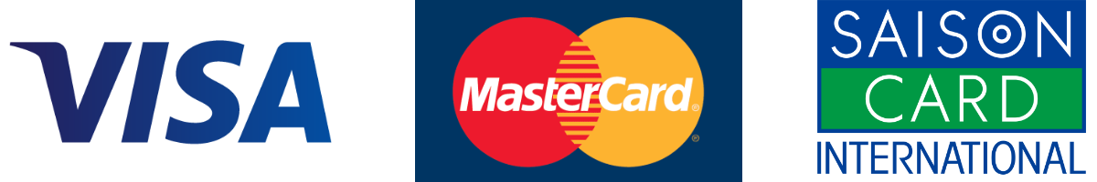 VISA、Master、セゾンブランドのカード