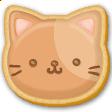 クッキー風の動物装飾イラスト H140-1