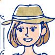 ペン画水彩風タッチ コロナ対策熱中症対策イラスト A287-3
