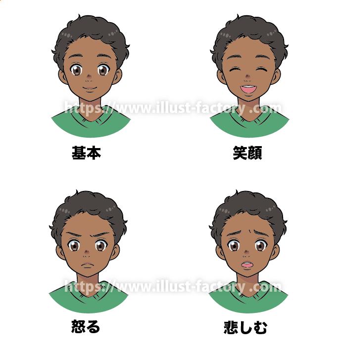 アニメ風タッチ 小中学校の教科書や教育関連のDM挿絵 L68-2