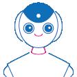 ロボット(アンドロイドなど)のイラスト C101