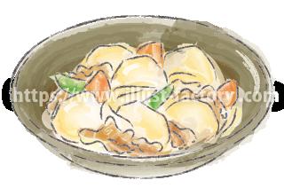 水彩タッチで描いた食べ物のイラスト H173-2