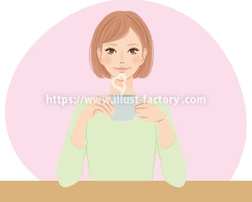きれいめタッチ 男女人物イラスト B103-4